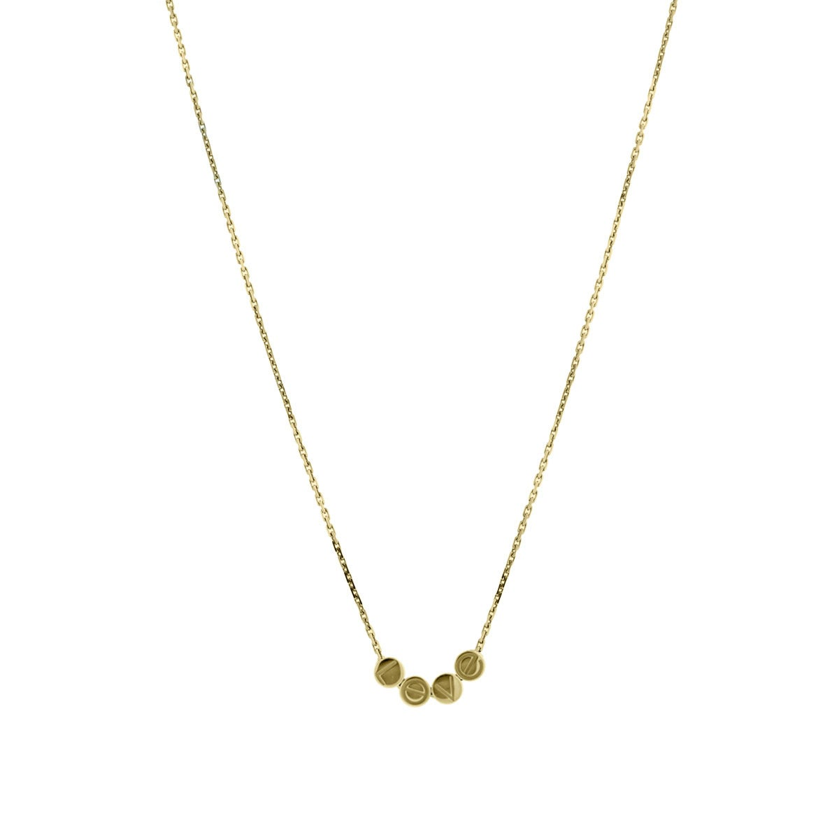 Cartier Gold LOVE Necklace at 1stdibs