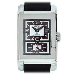 Rolex White Gold Cellini Prince Automatic Wristwatch Ref 5443/9