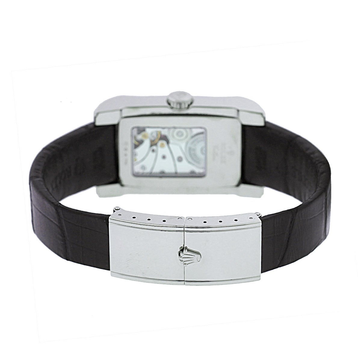 Women's Rolex White Gold Cellini Prince Automatic Wristwatch Ref 5443/9 For Sale