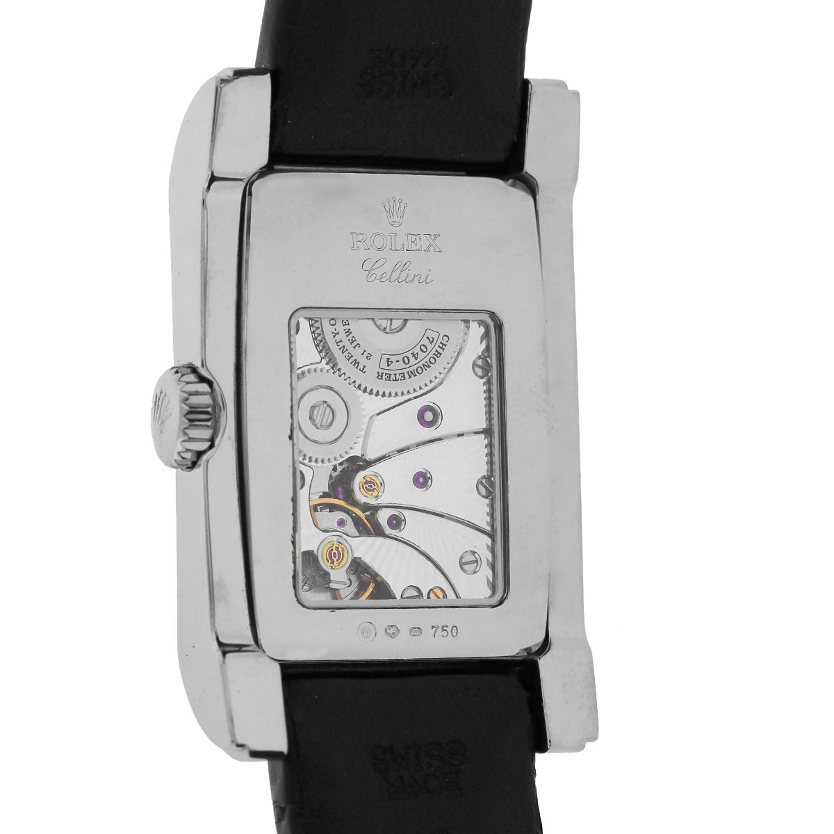 Rolex White Gold Cellini Prince Automatic Wristwatch Ref 5443/9 For Sale 1