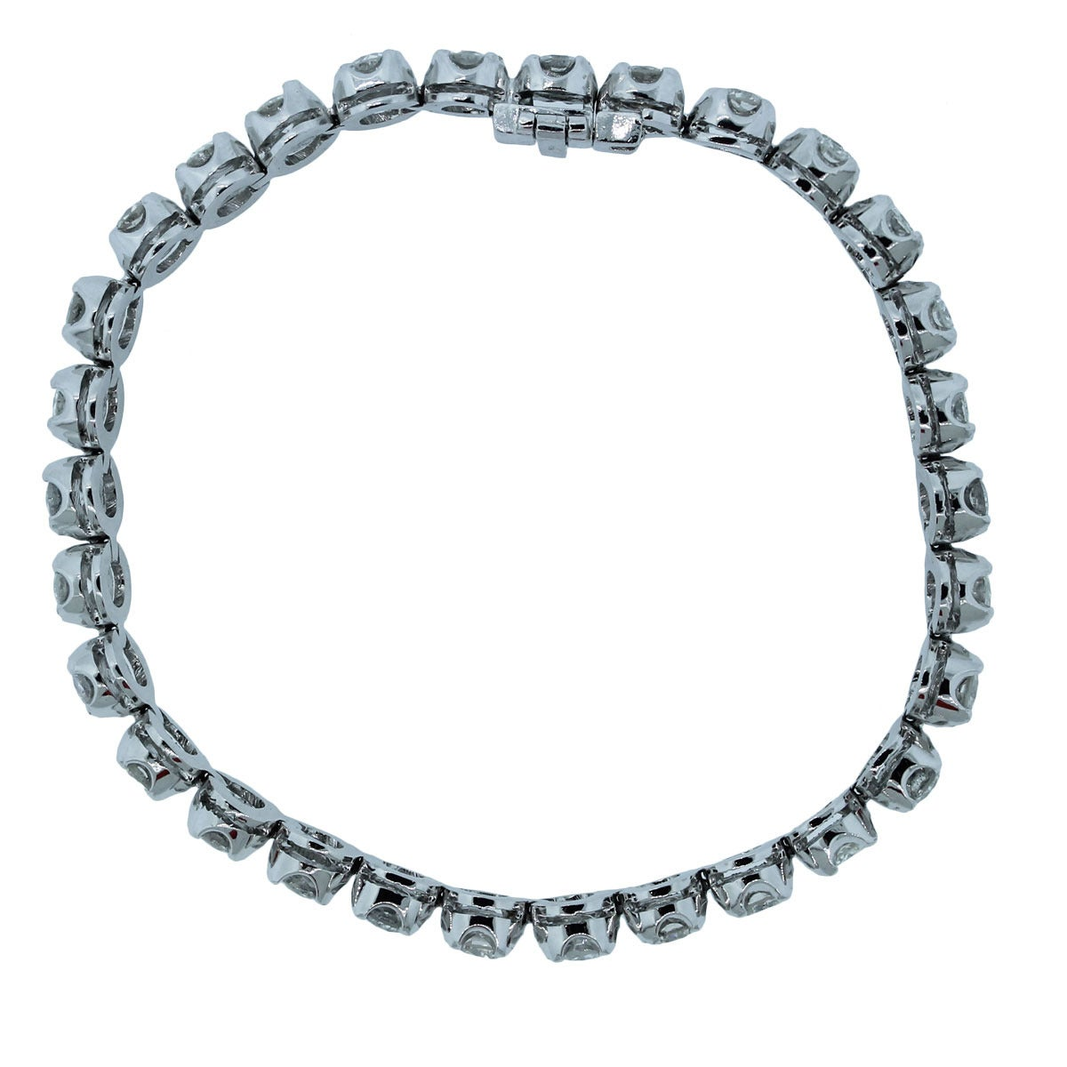 8 10 Carat Diamond Gold Tennis Bracelet At 1stdibs