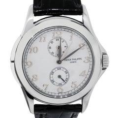 Patek Philippe Travel Time Quartz Wristwatch Ref 5134