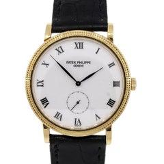Patek Philippe 3919 Calatrava Wristwatch