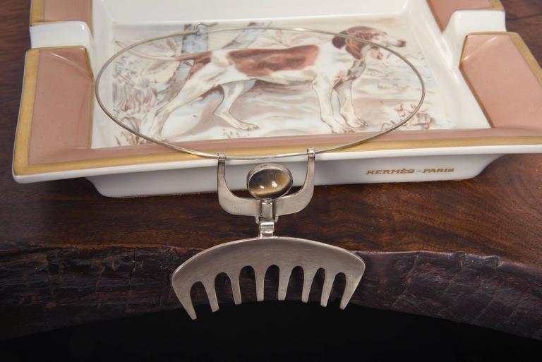 Modern 1954 Karl-ÅKe Nyströms Sterling Silver Pendant Necklace For Sale