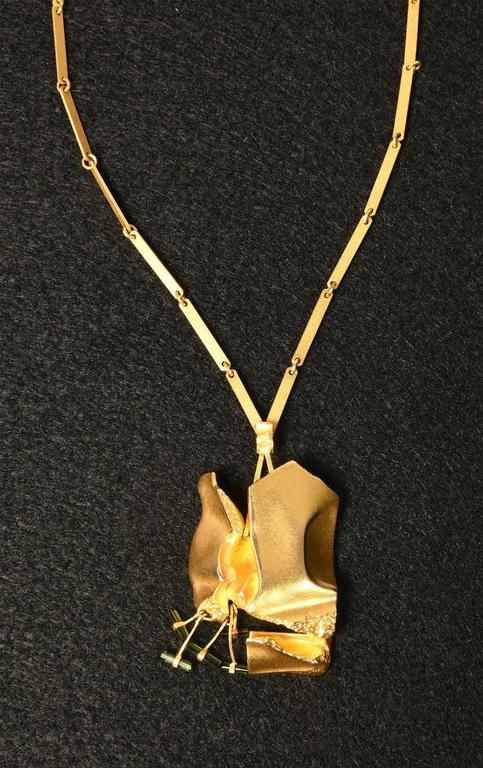 Rare necklace by Finnish jewelry designer Björn Weckström called