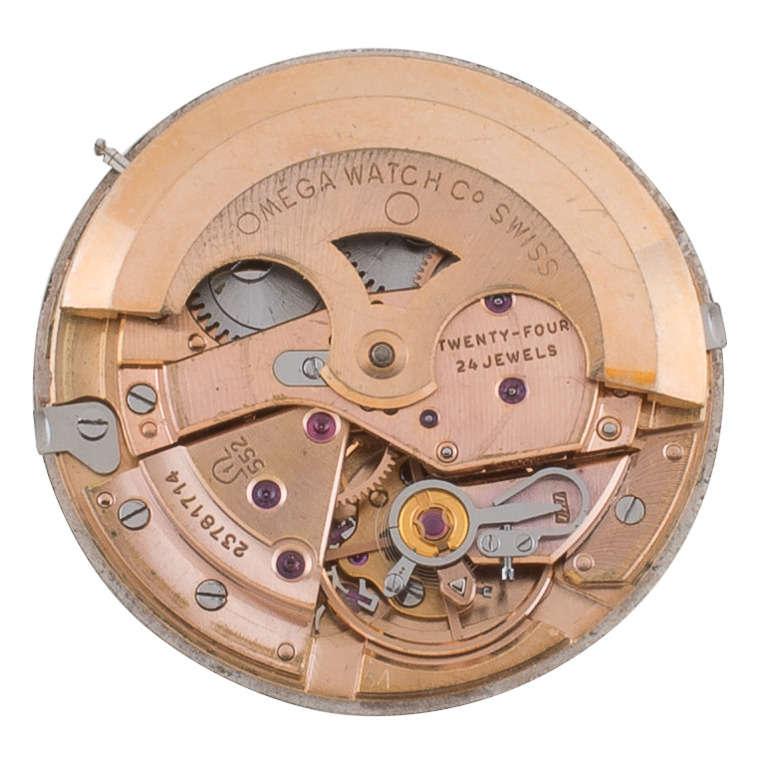 Omega Yellow Gold Automatic Wristwatch circa 1950s 4