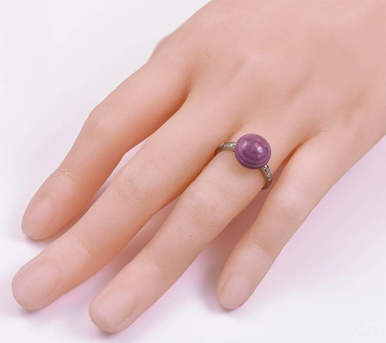 Rare Natural Mauve Colored Pearl Diamond Ring For Sale At. Wedding Iran Engagement Rings. Gold Cartier Wedding Rings. Double Strand Engagement Rings. Diamond Ring Engagement Rings. North West Ring Engagement Rings. Flat Round Diamond Wedding Rings. Ring Body Rings. Mood Rings