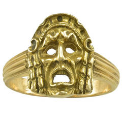 A 19th century French Gold Ring
