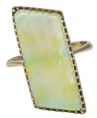Edwardian Opal Gold Ring