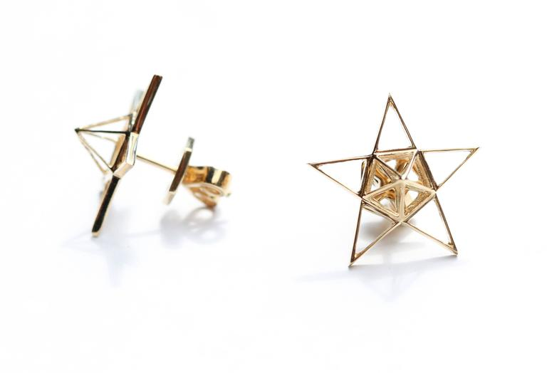 These limited edition earrings are an elegant and simple statement piece that go with any occasion.