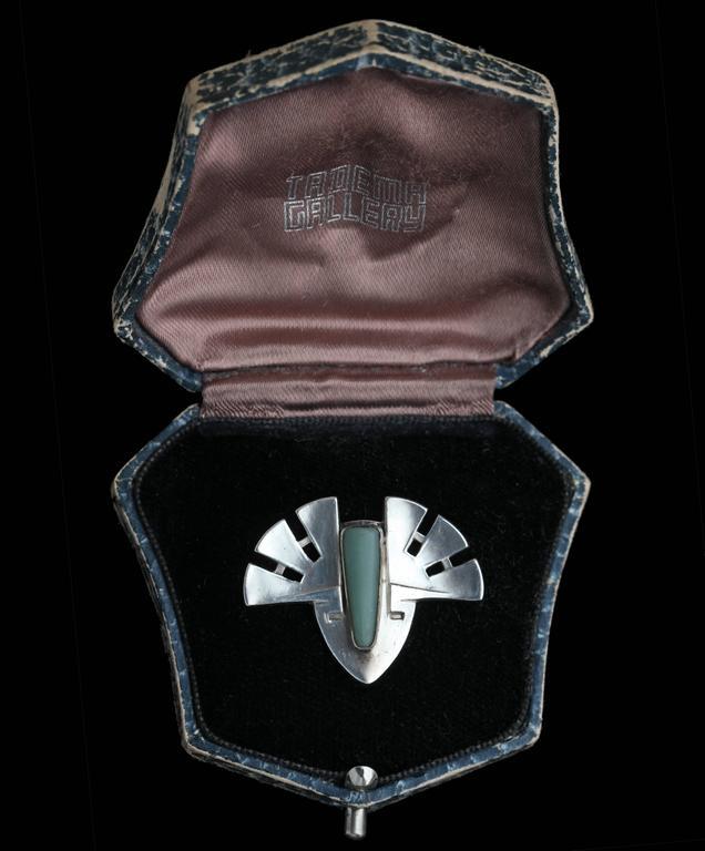 Patriz Huber Theodor Fahrner Jugendstil Brooch For Sale 1