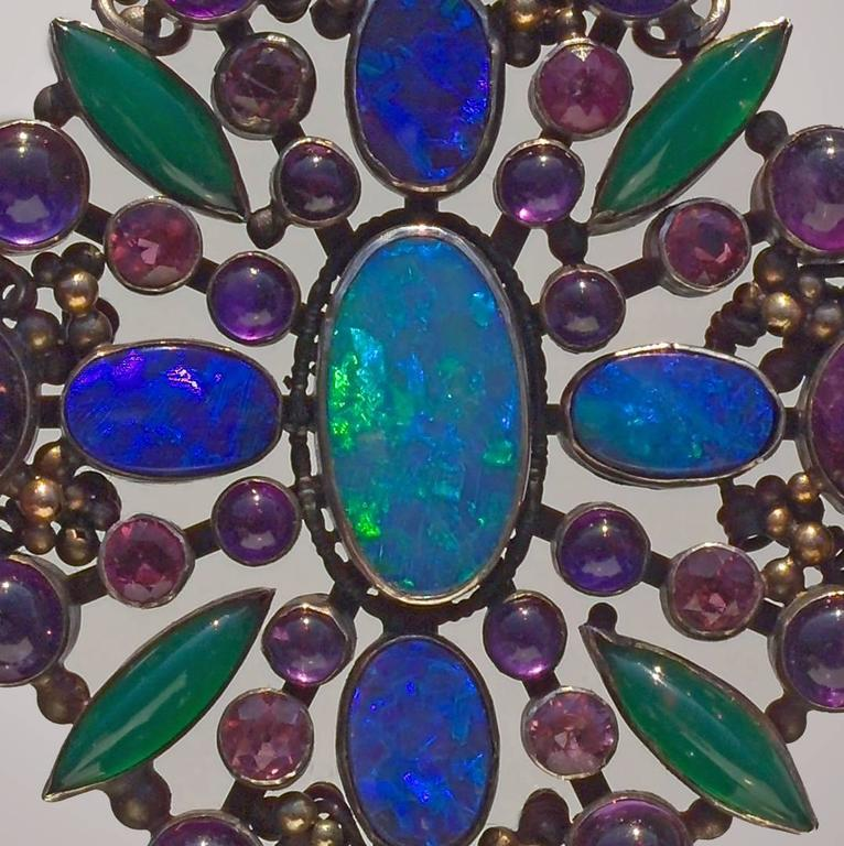 Attributed to Dorrie Nossiter Arts and Crafts Pendant For Sale 1