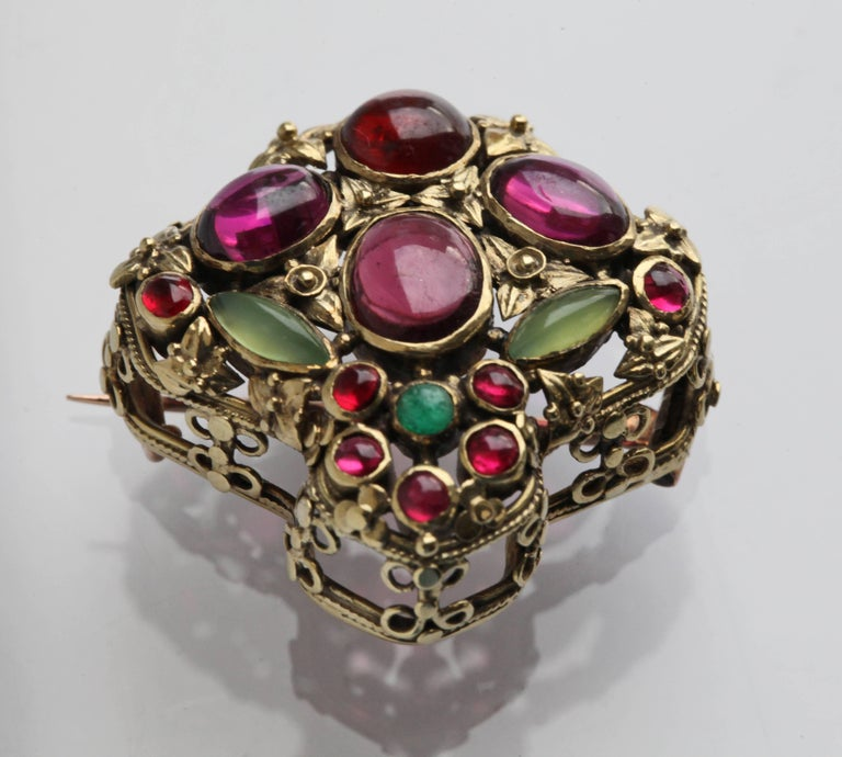John Paul Cooper Superb Arts & Crafts Brooch In Excellent Condition For Sale In London, GB