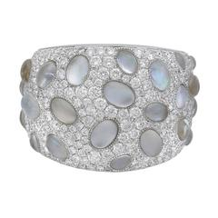 Ivanka Trump Rock Crystal Diamond Bubble Band Ring