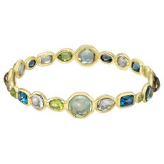 "Ippolita Yellow Gold Gem-Set ""Rock Candy"" Bangle"
