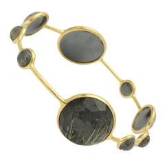 Ippolita Hematite Rutilated Quartz Lollipop Bangle