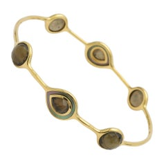 Ippolita Citrine Mother-of-Pearl Pyrite Bangle