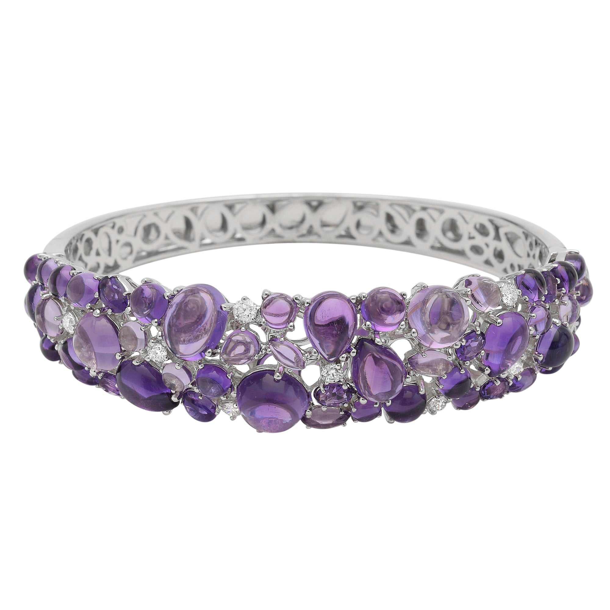 bangle cuff dents stephen black bangles l webster less de la resin amethyst mer bracelet