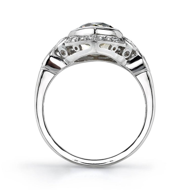 unique pear shape engagement ring for sale at 1stdibs