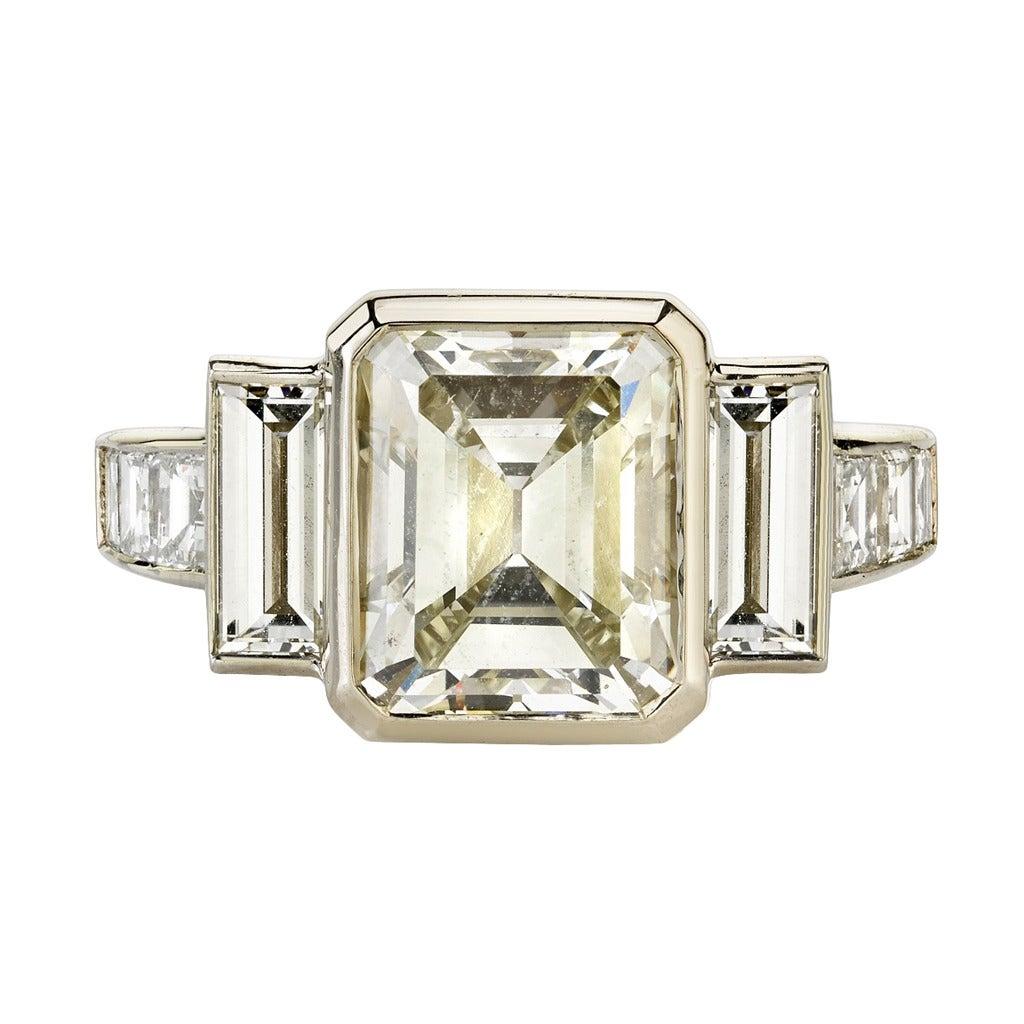 334 Carat Step Cut Diamond Gold Engagement Ring For Sale. Cake Engagement Rings. Christmas Wedding Rings. 1mm Gold Wedding Rings. Huge Diamond Rings. Bohemian Rings. Satin Finish Engagement Rings. Girlfriend Engagement Rings. 1.7 Carat Engagement Rings