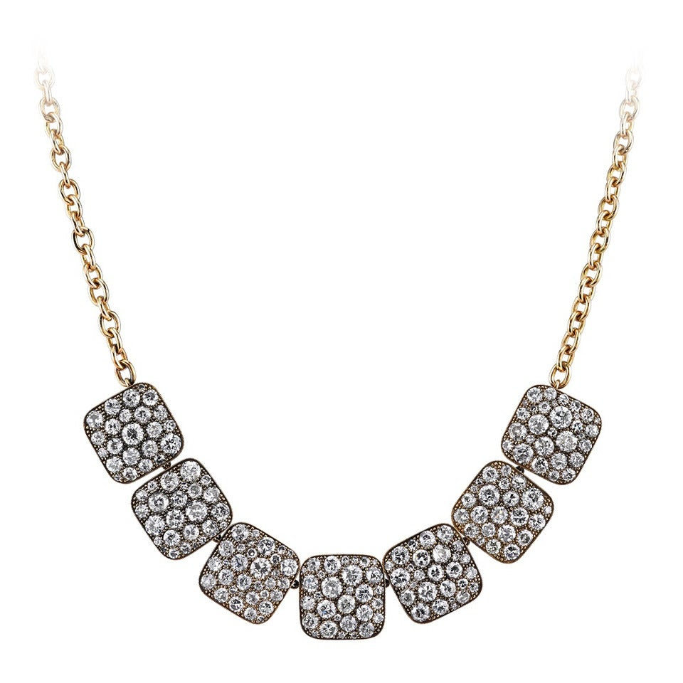 Cobblestone Bib Necklace