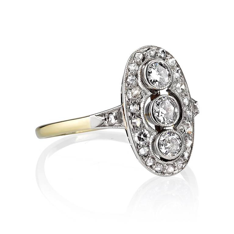Old Mine Cut Engagement Ring 2