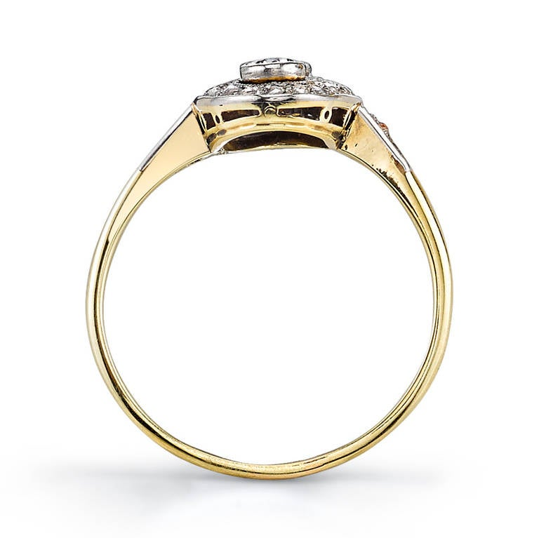 Old Mine Cut Engagement Ring 3