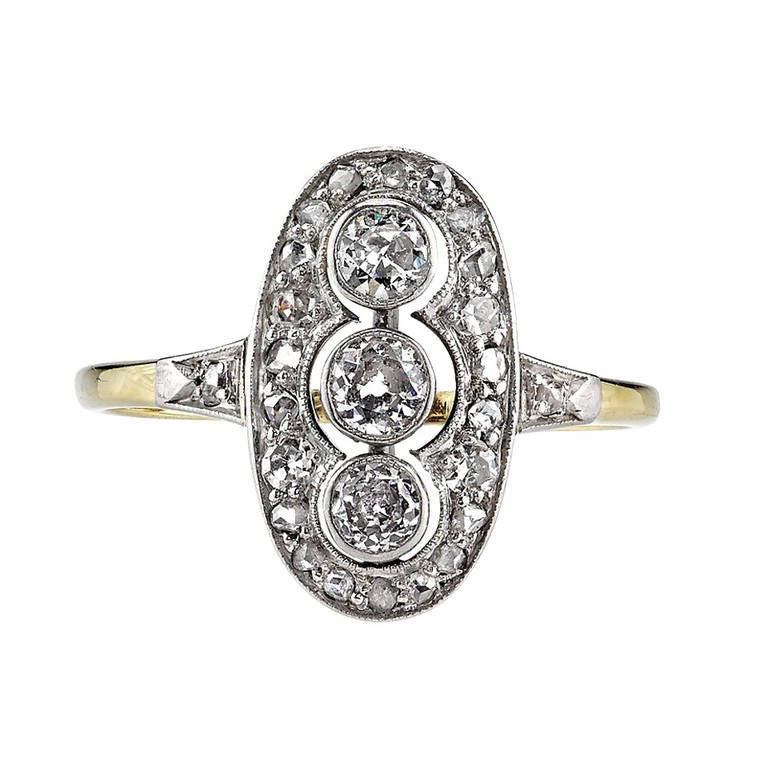 Old Mine Cut Engagement Ring 1