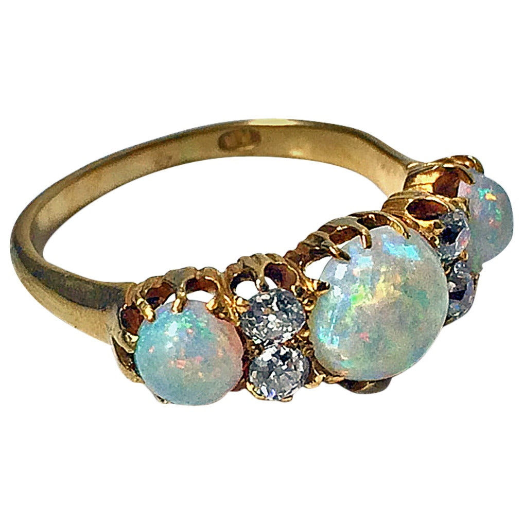 antique opal and ring at 1stdibs