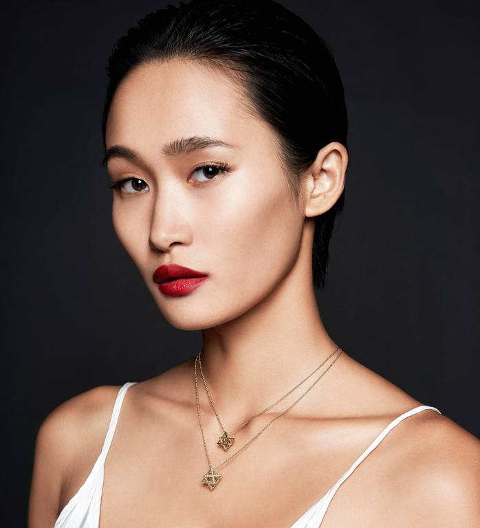 Modern Merkaba Star Fancy Yellow Diamond Gold Pendant Necklace For Sale