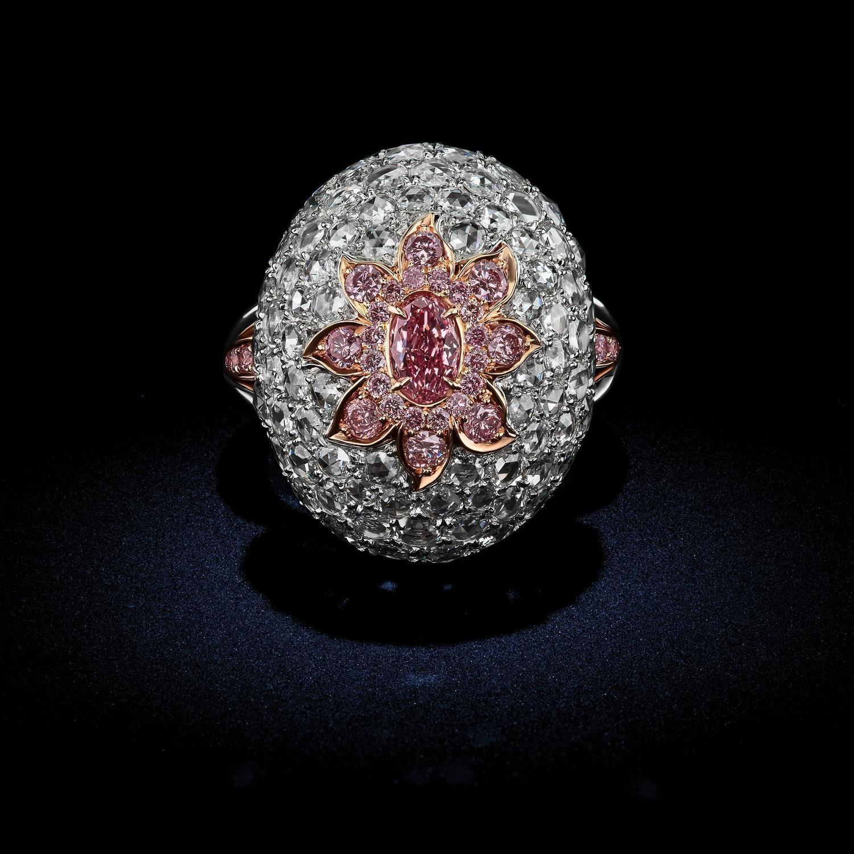 37 Carat Gia Cert Fancy Intense Deep Pink Argyle Diamond