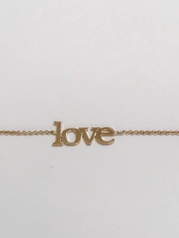 14kt Yellow Gold Large Love Bracelet 2