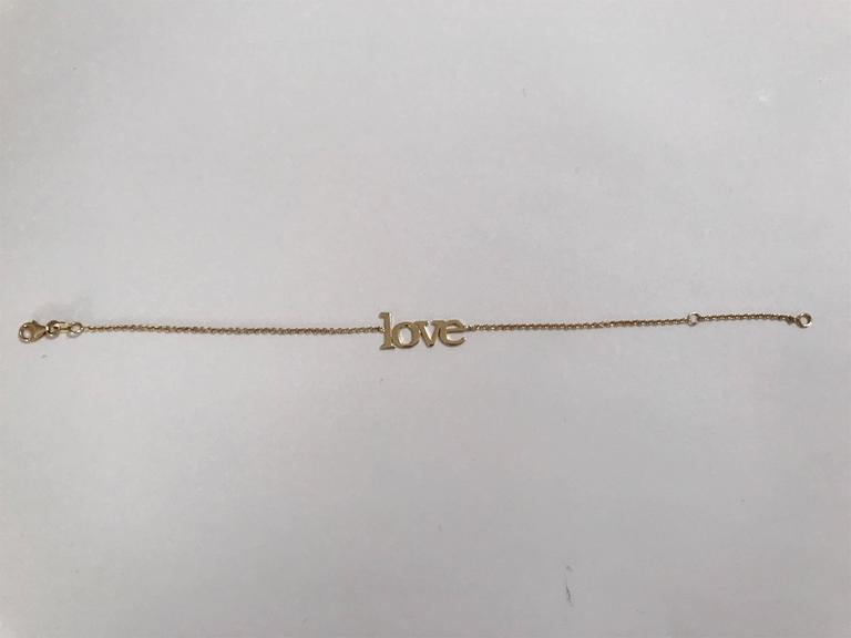 14kt Yellow Gold Large Love Bracelet 3