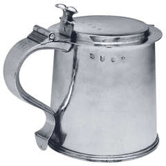 Antique English Silver Tankard
