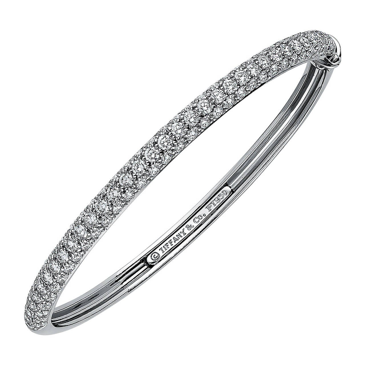 bracelet silver bangles s mens two row lab men pretty bangle round cut simulated sterling diamond