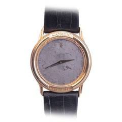 Corum Yellow Gold Wristwatch with Meteorite Dial circa 1990s