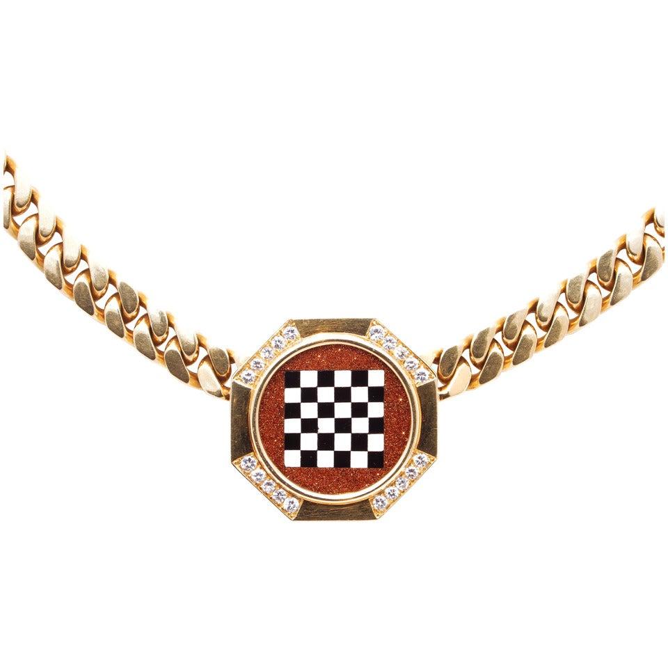 necklace festa bvlgari