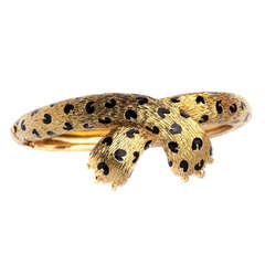A Leopard Bracelet by Fred