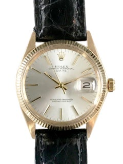 Fabulous Rolex Vintage 1967 Oyster Date Watch 18 Karat Gold