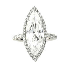 Marquis Diamond Ring