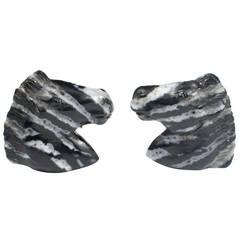 Zebra Stone Gold Cufflinks