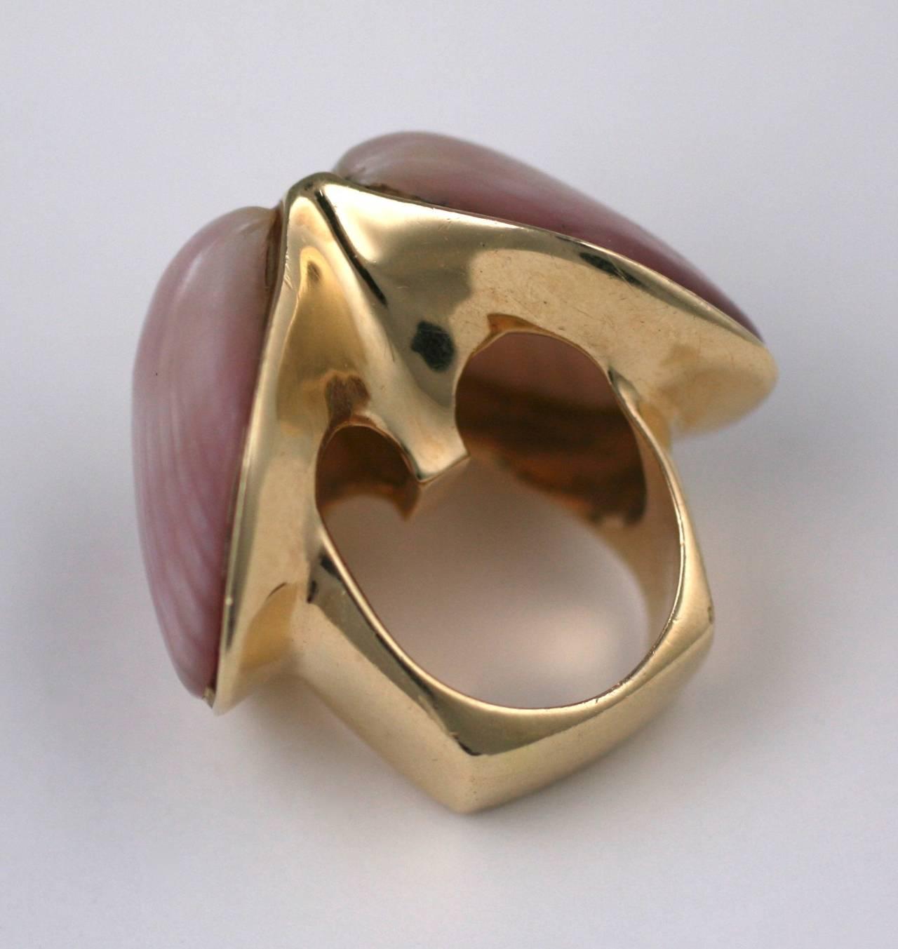 Marguerite Stix Double Shell Ring, Margaretacea For Sale 2