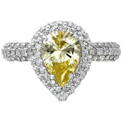 Alex Soldier Platinum Diamond Stardust Ring One of a Kind