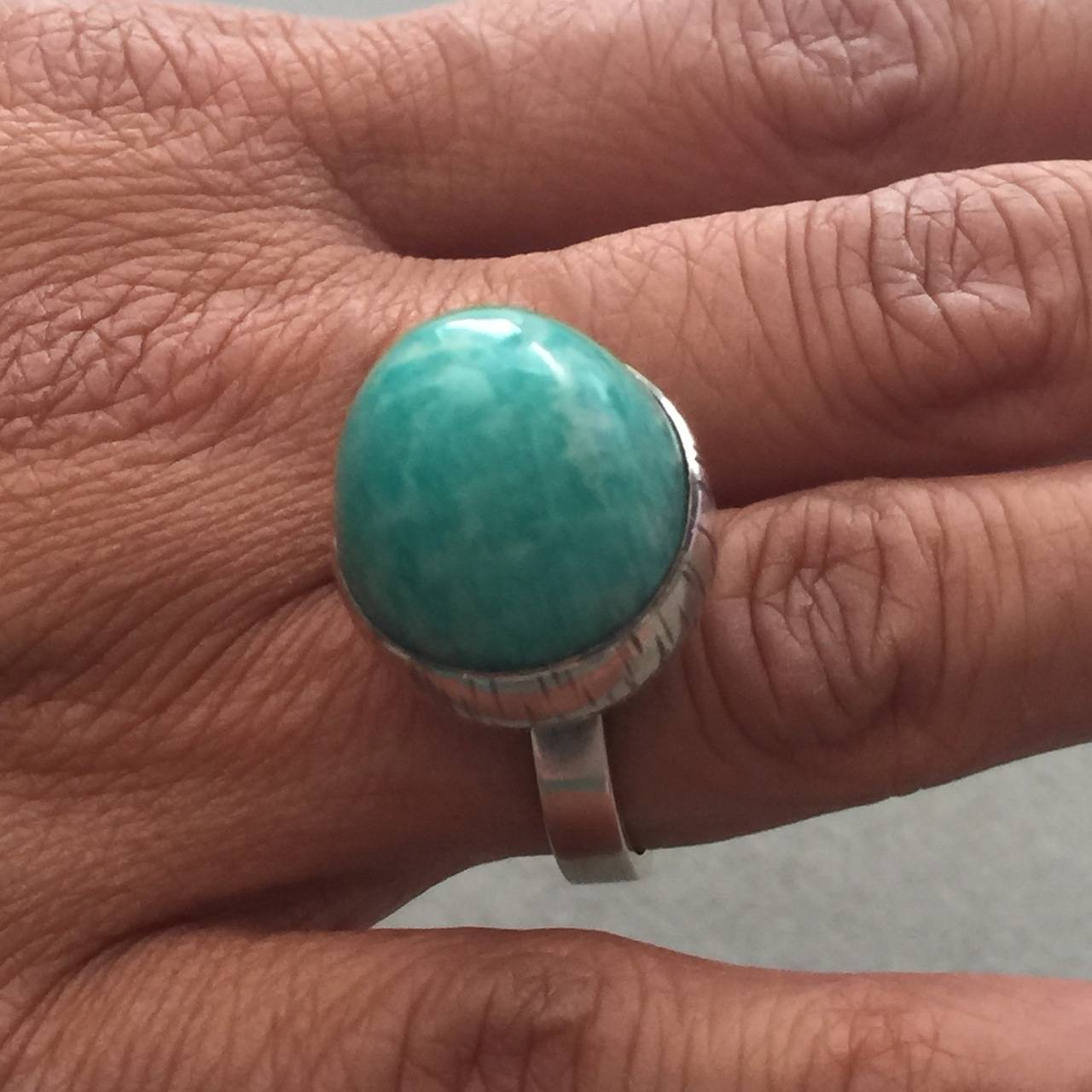 lunar collections ring jewellery grande amazonite rings auren