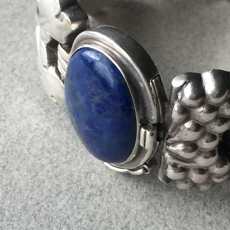 Georg Jensen Paris Lapis Lazuli Cabochon Sterling Silver