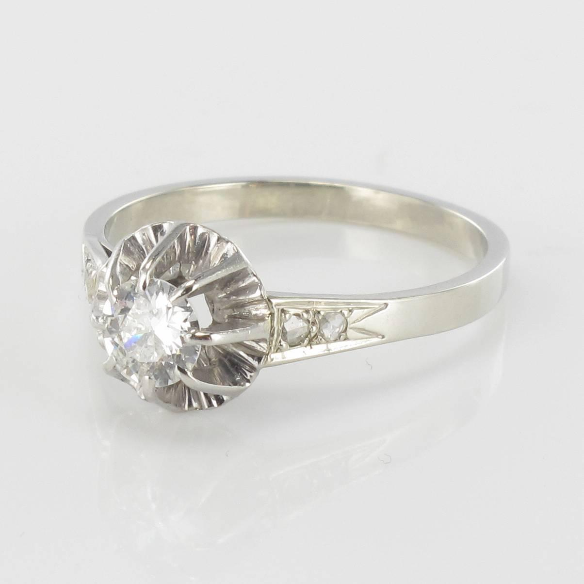 Antique diamond ring For Sale at 1stdibs