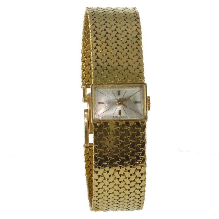 1950s Longines Gold Woman Watch