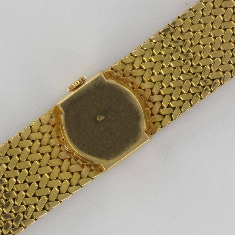 1950s Longines Gold Woman Watch For Sale 3