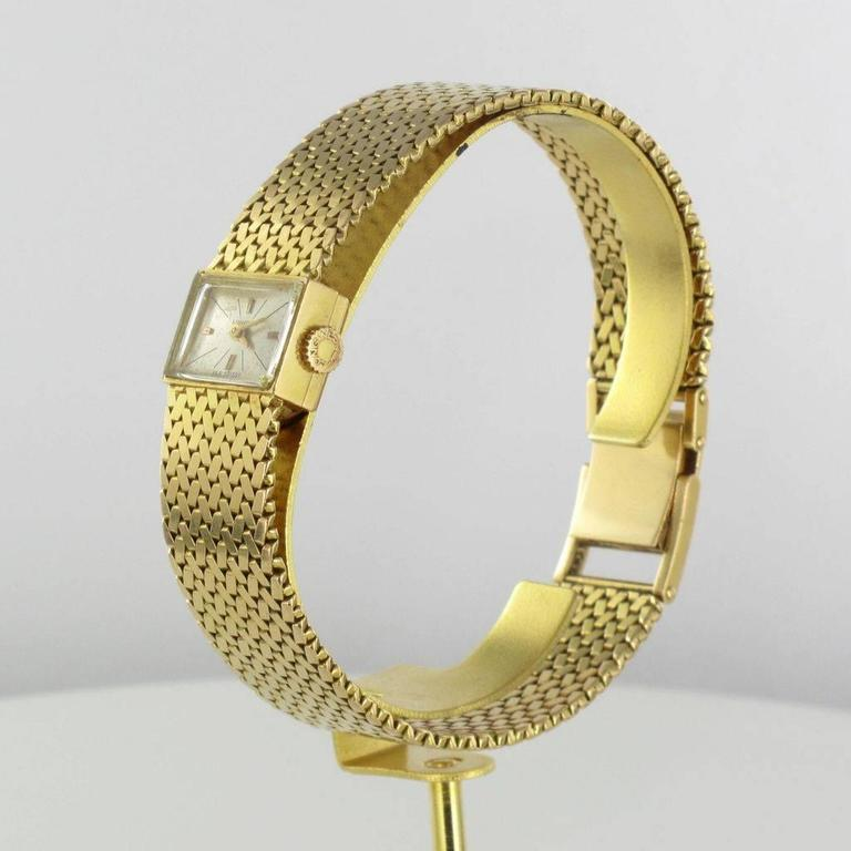 Retro 1950s Longines Gold Woman Watch For Sale