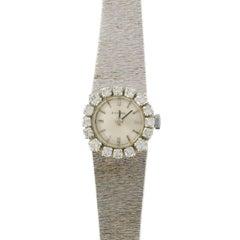 French Ladies Eviana White Gold Diamond Wristwatch